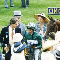 The Hon Alastair Morrison, Philip Wroughton, Cash Asmussen and Lady Sophia Morrison