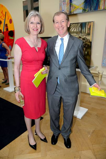Theresa May and Philip John May