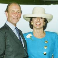 John Dunlop and the Hon Mrs Lawson