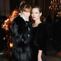 Florence Welch and Kate Moss