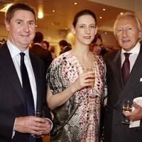 Raymond Sykes, Maria Grachvogel and Harold Tillman