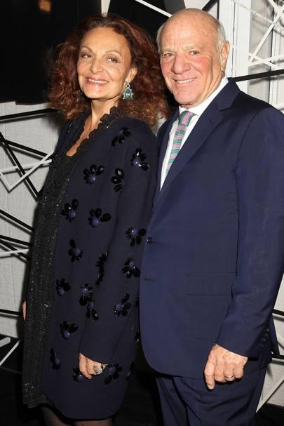 Diane von Furstenberg and Barry Diller