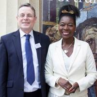 Richard Fitzwilliams and Baroness Benjamin
