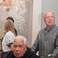 Sir Howard Hodgkin and Antony Peattie