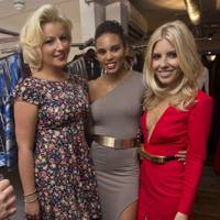 Mollie King, Natalie Coyle and Louise Hazel