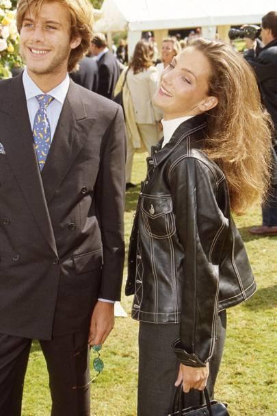 Prince Emmanuel Filiberto of Savoy and Alejandra di Andia
