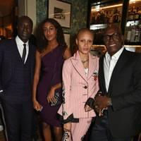 Ozwald Boateng, Emilia Boateng, Adwoa Aboah and Charles Aboah