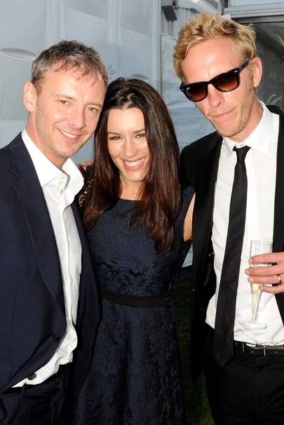 John Simm, Kate McGowan and Laurence Fox