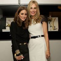 Olivia Palermo and Kim Hersov