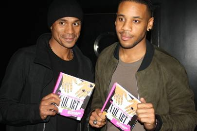 Manny Langley and Reggie Yates