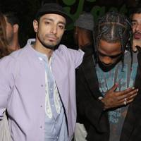 Riz Ahmed and Travis Scott