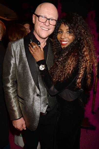John Caudwell and Sinitta