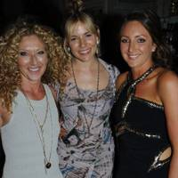 Kelly Hoppen, Sienna Miller and Natasha Corrett