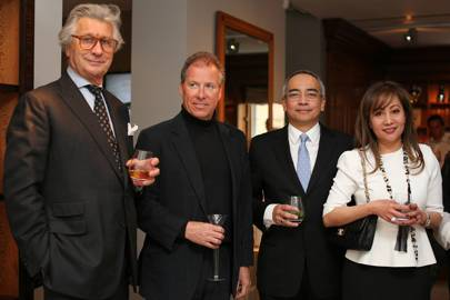 Arnaud Bamberger, David Linley, Nazir Razak and Azlina Aziz