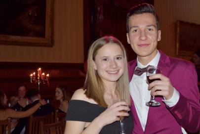 Abigail Whittham and Curtis Reeves
