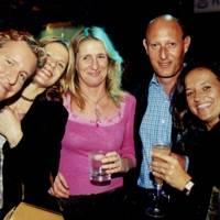 Andrew Nicholls, Sophie Butler Adams, Belinda Stephenson, Mike Townend and Mrs Mike Townend
