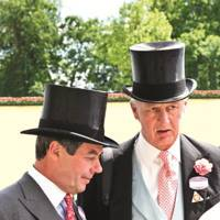 Lord Daresbury and the Duke of Roxburghe