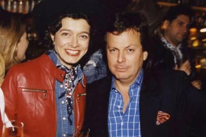 Mrs Jacques Gelardin and Andreas Piedrahita