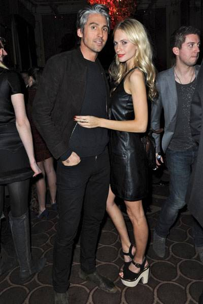 George Lamb and Poppy Delevingne