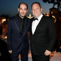 Sheikh Mohammed Youssef El-Khereiji and Harvey Weinstein