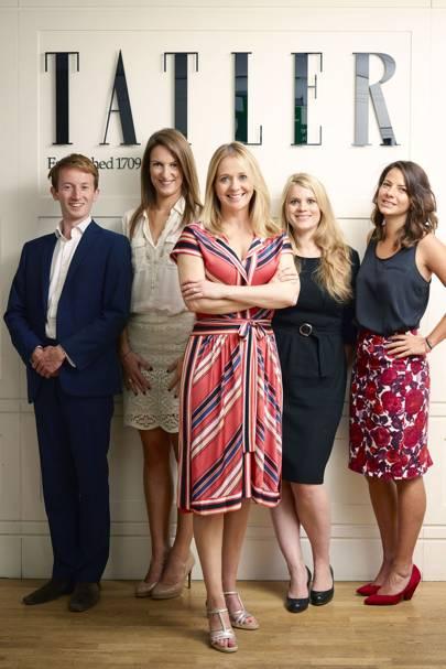 Matthew Bell, Sophia Money-Coutts, Kate Reardon, Gavanndra Hodge and Tibbs Jenkins