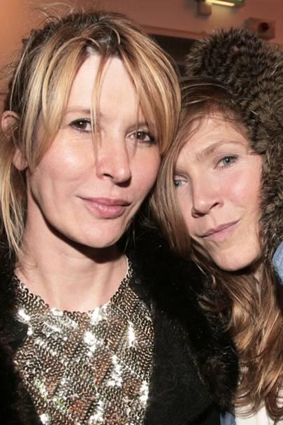 Julia Davis and Jessica Hynes