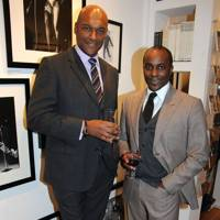 Colin Salmon and Christopher Childs