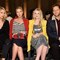 Princess Olympia of Greece, Nicky Hilton, Dakota Fanning and Derek Blasberg