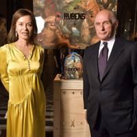 Almine Rech and Bernard Ruiz-Picasso