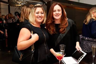 Sheena Griffiths and Natalia Miyar