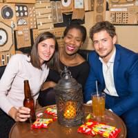 Sarah Hessel, Funmi Oyesanya and Jamie Goode