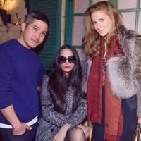 Thakoon Panichgul, Rushka Bergman and Claire Distenfeld