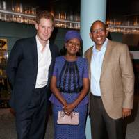 Prince Harry, Princess Mabereng and Prince Seeiso Bereng Seeiso