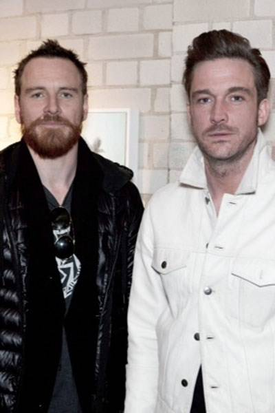 Michael Fassbender and Chris Moon