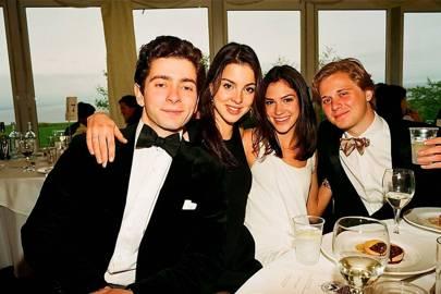 Stefano Erb, Victoria Bucci, Chelsea Minz and Casey Larsen