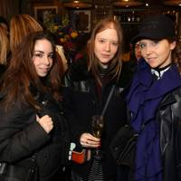 Holly Fraser, Jessica Bumpus and Kim Howells