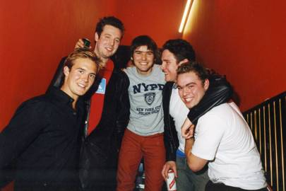 Tom Rutherford, Hugo Fairey, Jack Brockway, Rocco Gardner and Ben Montague