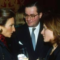 Marchesa Edoardo Ferrero, Stephen Fiamma and Mrs Stephen Fiamma