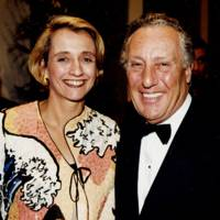 Mrs Frederick Forsyth and Frederick Forsyth