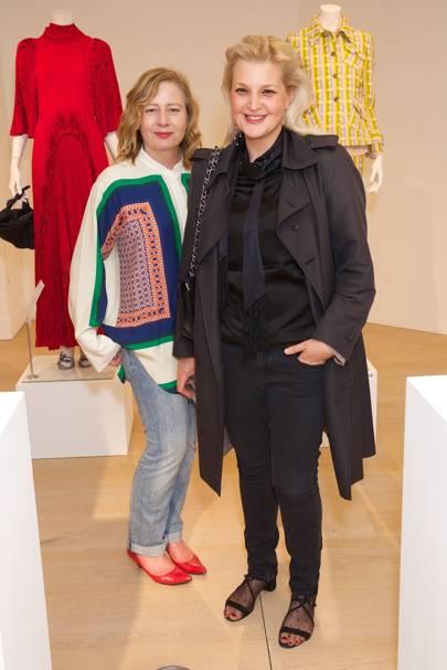 Sarah Mower and Sophia Kokosalaki