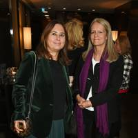 Alexandra Shulman and Lady Jane Wellesley