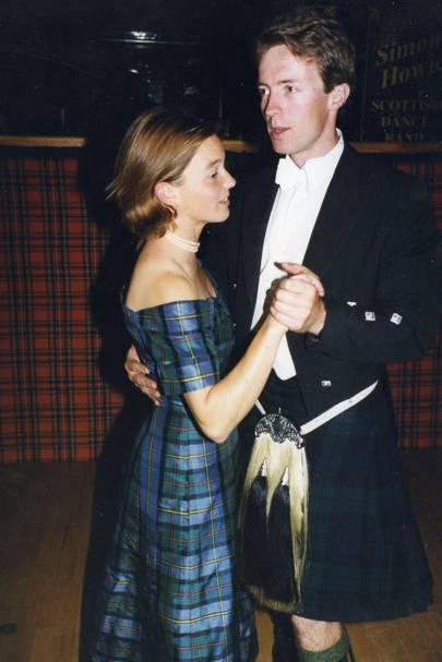 Julia Freeland and David Fox-Pitt