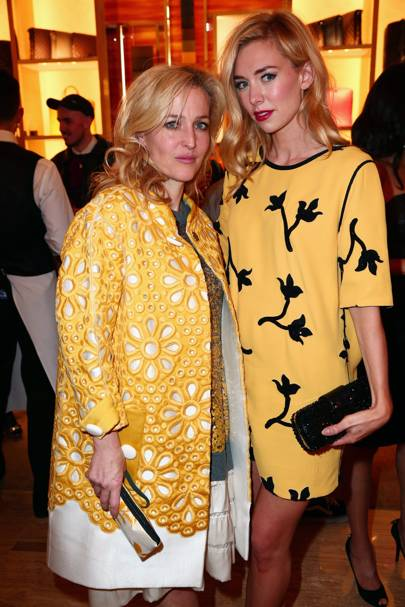Gillian Anderson and Vanessa Kirby