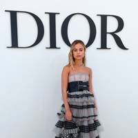 Lady Amelia Windsor at the Dior show.