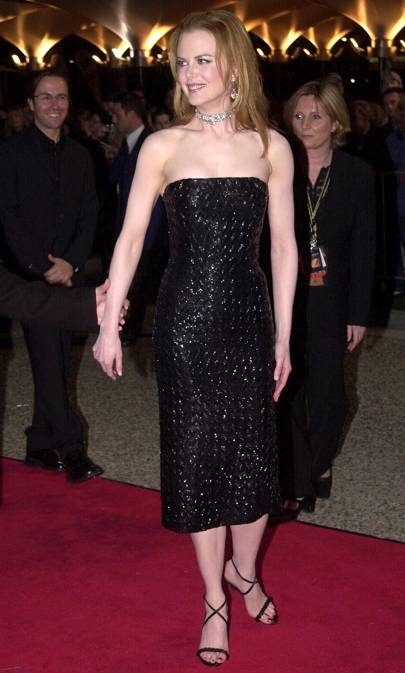 At the 'Moulin Rouge' Sydney premiere, 2001