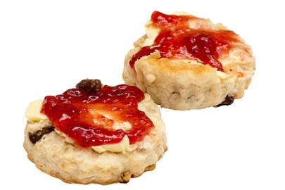 Scones or crumpets?
