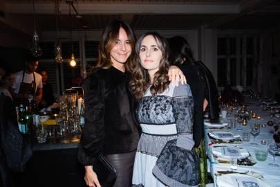 Alison Loehnis and Tania Fares