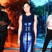 Wendi Deng at Diane von Furstenberg