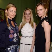 Jemma Mornington, Lauren Santo Domingo and Jacquetta Wheeler