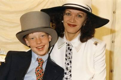 James Black and Mrs Conrad Black